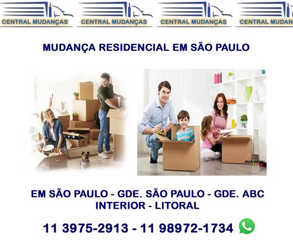 Mudança Residencial São Paulo